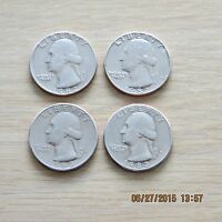 1982 1983 P&D KEY DATE WASHINGTON QUARTERS SET 552