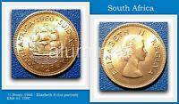 SOUTH AFRICA    PENNY 1960    ELIZABETH II KM 45  UNC  TOP