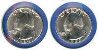 WASHINGTON QUARTERS: 1980 P AND 1980 D FROM MINT SET