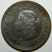 1891 CANADA CENT CH UNC REDUCED PRICE