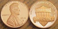 2014 S PROOF LINCOLN SHIELD CENT SUPERBLY STRUCK EYE CLEAN WITH MINIMAL TONING