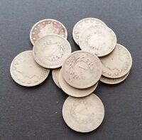 USA WHOLESALE LOT OF V NICKELS 11 PIECES 1902 & 1908