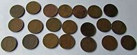 LINCOLN WHEAT CENTS 1909  33 D 1909 1911 1913 1914 1616 1917 1919 1920  LOT 21