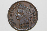 UP FOR SALE IS ONE 1898 INDIAN HEAD CENT THAT GRADES NET EXTRA FINE IPX668