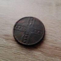 5 KOPEKS 1730 MD RUSSIAN EMPIRE COIN. CIRCULATED AND COPPER.  COIN