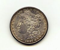1887 S MORGAN DOLLAR UNC
