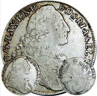 LARGE 1776 COLONIAL MADONNA & CHILD SILVER GERMANY THALER SKU YM1