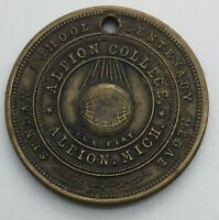 ALBION COLLEGE 1766   1866 MICHIGAN  MEDAL