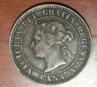 CANADIAN COINS  1888 CANADA LARGE CENT OLD PENNY VICTORIA