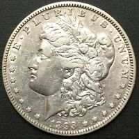 1893 O MORGAN SILVER DOLLAR EXTRA FINE  DETAILS  COIN ONLY - 300,000 MINTED