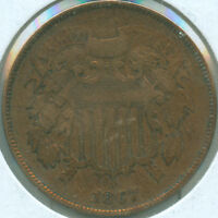 1867 2C TWO CENT PIECE 1619068