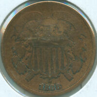 1868 2C TWO CENT PIECE 1619063