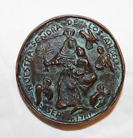 VERY OLD COIN/MEDALLION LOS ANGELES 1781/1769 PORTOCA AND CRESPI