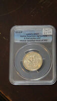 2009 P&D ANACS MS67 NATIVE AMERICAN AGRICULTURE TWO PIECE SET
