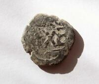 PIRATE COIN  SPANISH COLONIAL COB  C1600'S  DATE   GENUINE COPPER COIN  21MM