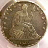 1841 O PCGS XF45 SEATED LIBERTY HALF DOLLAR   IDI20