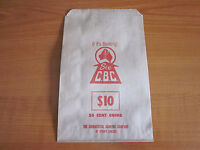 CBC OF SYDNEY LTD PAPER COIN BAG $10 OF 20 CENT COINS 1970