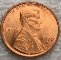 1970 S LINCOLN CENT PULLED FROM A U.S. MINT SET WOW LOOK