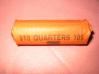 2000   P ROLL OF MASSACHUSETTS STATE QUARTERS   CIRCULATED   40 COINS