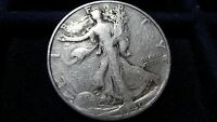 1940 S WALKING LIBERTY HALF DOLLAR IN GOOD CONDITION I 23 16