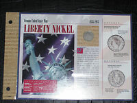 1901 LIBERTY NICKEL IN BINDER READY PROTECTIVE FOLIO COVER   COA