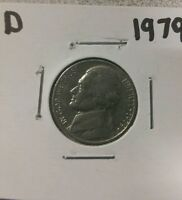 1979 D 5C JEFFERSON NICKEL