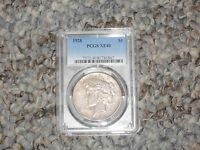 $1 1928 P PEACE SILVER DOLLAR PCGS XF 45 THE KEY DATE TO THE PEACE DOLLAR SERIES