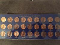 LINCOLN MEMORIAL CENT COLLECTION 1959P   1971S