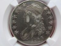 1826 US 50C CAPPED BUST HALF DOLLAR NGC XF DETAILS