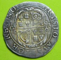 CHARLES 1ST TOWER MINT SILVER SHILLING ,MM  PORTCULLIS 1633 1634