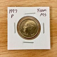 1997 P FROM MS ROOSEVELT DIME LOTE 009