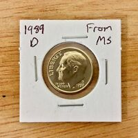 1989 D FROM MS ROOSEVELT DIME LOTE 019