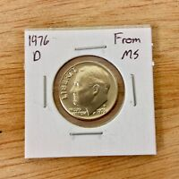 1976 D FROM MS ROOSEVELT DIME LOTE 029