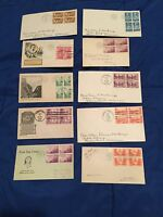 1934 US FIRST DAY COVERS LOT OF 17 735A-751