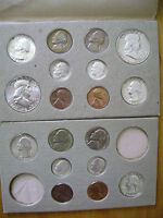 1956 P&D DOUBLE US MINT SET TONE