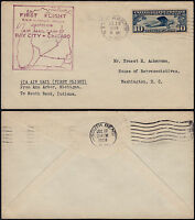 USA 1928 - 1ST FLIGHT AIR MAIL COVER ANN ARBOR TO SOUTH BEND