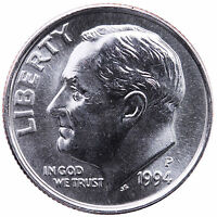 1994 P ROOSEVELT DIME CHOICE BU US COIN