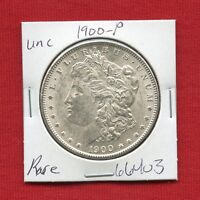 1900 MORGAN US SILVER DOLLAR 66403 BRILLIANT UNCIRCULATED MS MINT STATE ESTATE