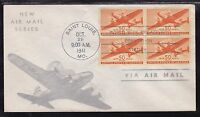 SCOTT C31 AIRMAIL PAR AVION FIRST DAY COVER FDC LOW PRICE