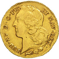 [49678] FRANCE LOUIS XV DOUBLE LOUIS D'OR 1766 ORLANS OR KM:519.15