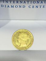 1868 TWO PESO PHILIPPINES CROWNED ARMS GOLD COIN