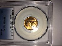 1933 D LINCOLN CENT PCGS MS 64 RED