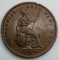 GREAT BRITAIN 1826  PENNY GEORGE IV  SHARP COIN