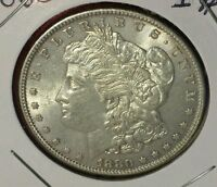 BEAUTIFUL UNCIRCULATED 1880 P MORGAN SILVER DOLLAR