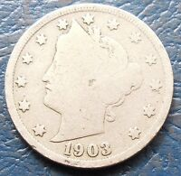 1903 HEAD OF LIBERTY WITH 13 STARS