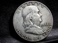 1952 D DENVER MINT FRANKLIN HALF DOLLAR 7