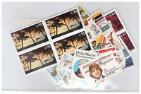 US $30.00 FACE MINT/NH POSTAGE LOT OF 21 - 90 VALUE AIR MAIL STAMPS