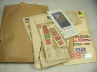 US, OLD ACCUMULATION OF 100'S OF REVENUE & OTHER STAMPS IN GLASSINES, ENVELOPES