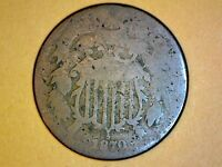 1870 TWO CENT    COIN