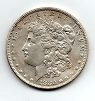 1880 0 MORGAN DOLLAR GREAT EYE APPEAL & DETAIL SUPER NICE